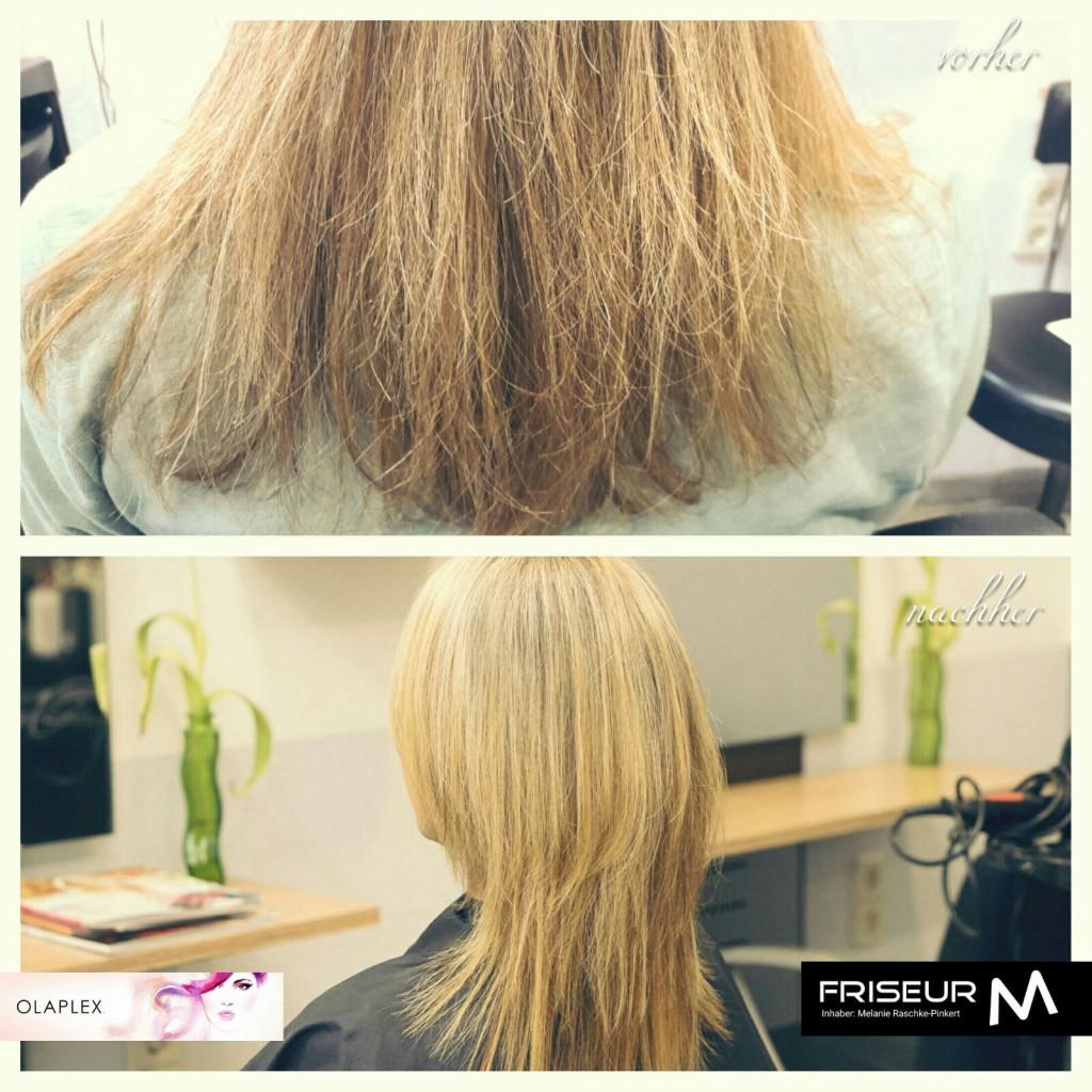 Vorher - Nachher - Frisur