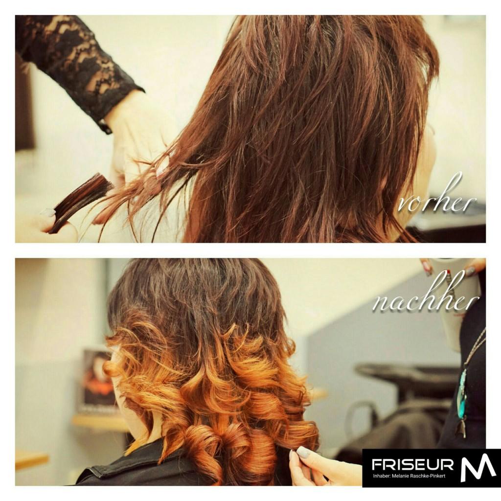 Vorher - Nachher Frisur