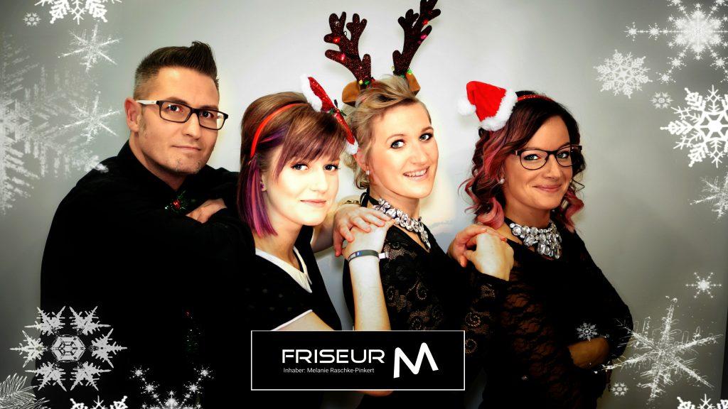 Frohe Weihnachten - Friseur M